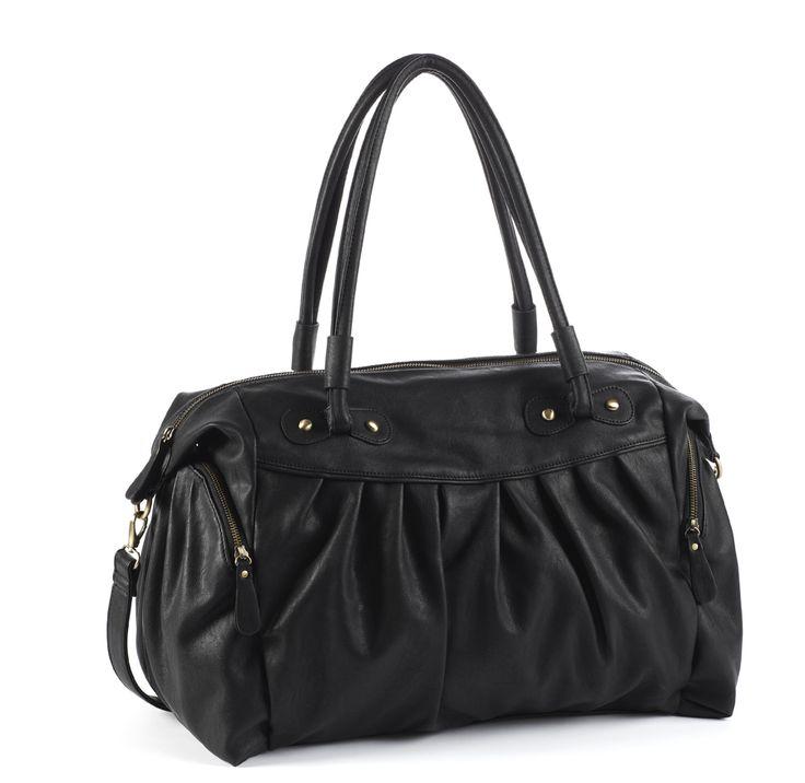 GANLY black - changing bag  Arrives in shops mid-September
