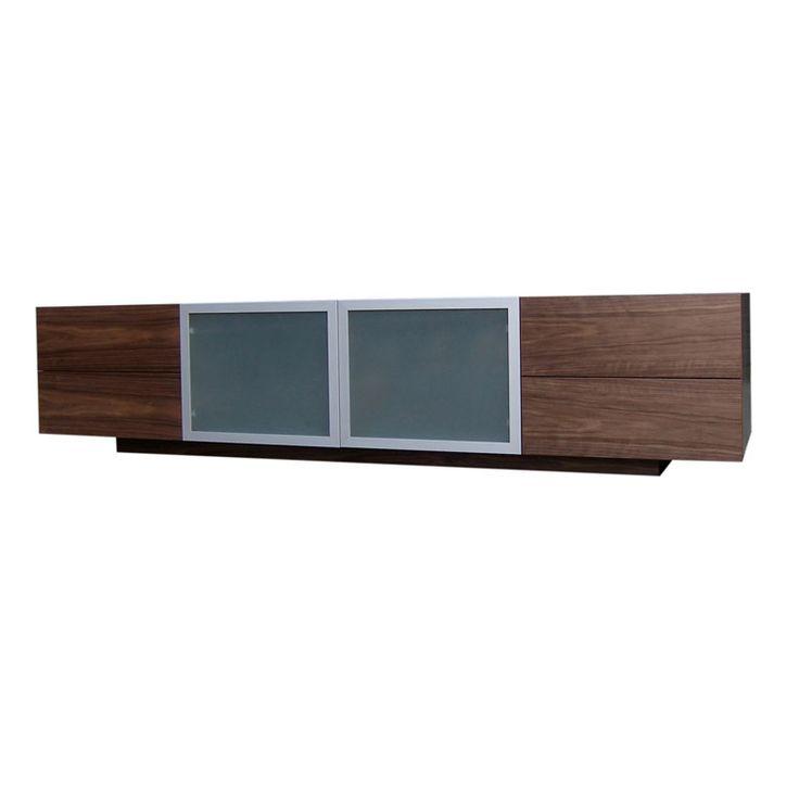 Long Low Entertainment Unit by Anton Gerner - bespoke contemporary furniture melbourne