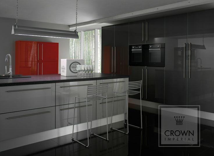 Kitchen Grey High Gloss