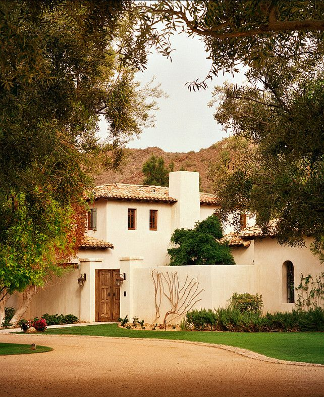 Spanish Style Home Exteriors: 20 Best Images About Southwest & Spanish Revival Exteriors