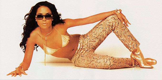 A photo of Aaliyah