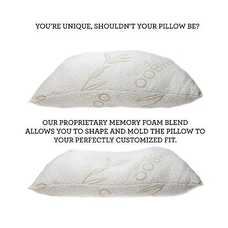 Check out our review:  Coop Good Home shredded memory foam pillow - the BEST Memory Foam (Non-Contoured) Pillow for Side Sleepers  #pillows #review