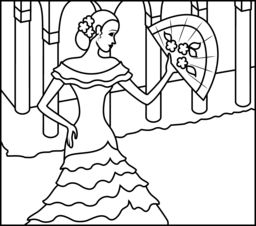 Spanish Numbers Coloring Pages Miakenasnet