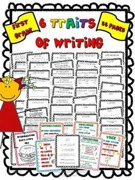 6 Traits of Writing Mini Lessons With Printables! by Robin Wilson 1st Grade Love | Teachers Pay Teachers
