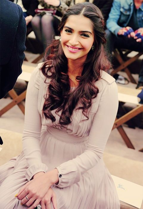Sonam Kapoor Braided Hairstyle<br />