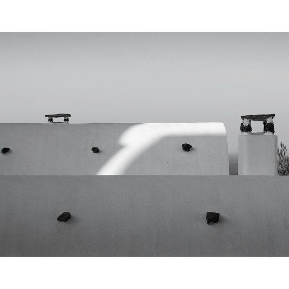 """Rooftops, Santorini"""