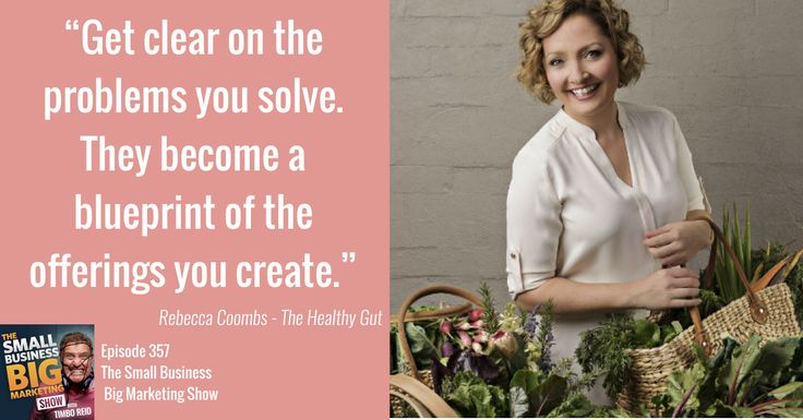 Rebecca Coombs of The Healthy Gut tells us how an Ascending Transaction Model was a game changer for her business.