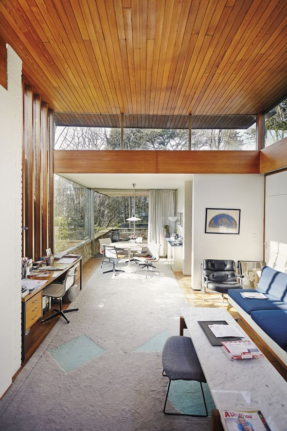 What S Hot On Pinterest Mid Century Modern Houses Interior