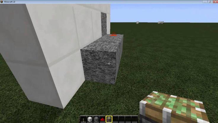 Tutorial Minecraft #004 How To Build A Door Locks A Disappearance - GameLegendRav  Facebook Subscribe: https://www.facebook.com/pages/Game-Legend/807841155928892?ref=hl  Twitter: @gamelegendrav  Site Official : http://www.gamelegendrav.com
