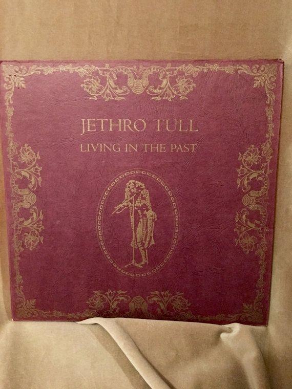 Jethro Tull Living in the Past vintage Vinyl LP record family