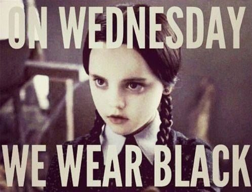 Gotta love the mean girls reference. Bahaha. <3 Wednesday