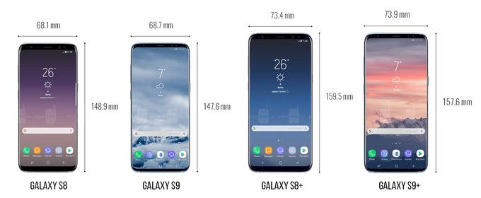 Samsung Galaxy S9 vs Samsung S8, Which do you like better fo