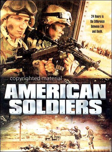 Amerikan Askerleri - American Soldiers - 2005 - DVDRip Film Afis Movie Poster