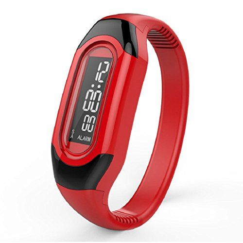 Ularma Sportuhren LED Elektronische Armband Schmale Elektronische-Uhr (rot) - http://uhr.haus/ularma/ularma-sportuhren-led-elektronische-armband-uhr-5