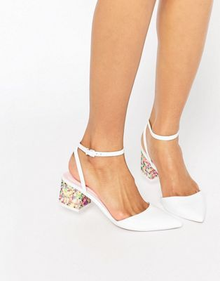ASOS - STARDOM - Scarpe a punta con tacco decorate