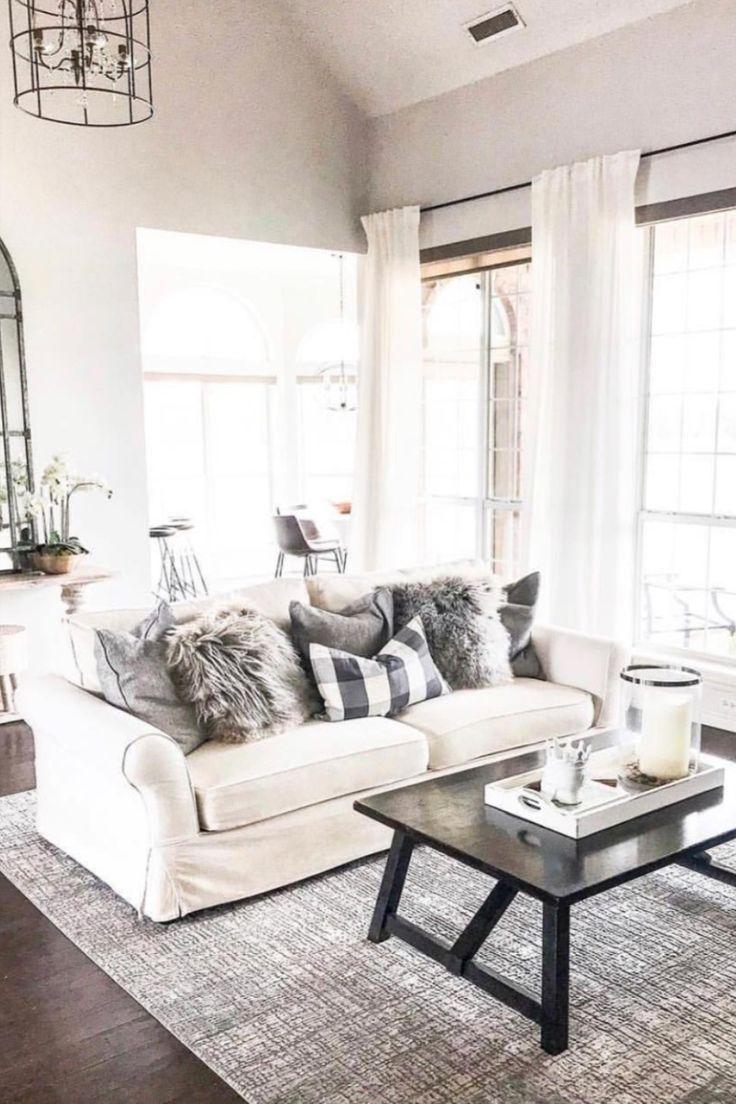 White Louise Skull In Rose De Vents White Living Room Decor Living Room Decor Inspiration Living Room Decor