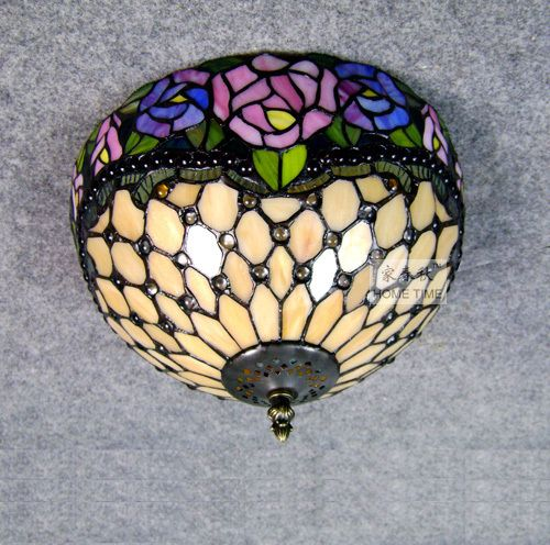 Tiffany ceiling light fashion entrance lamps rose , h0292b  free shipping