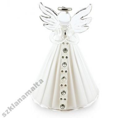 Aniołek szklany anioł Mdina Glass