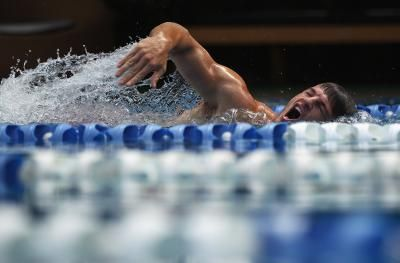 A healthy diet for training swimmers