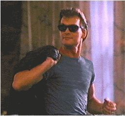 Patrick Swayze (Dirty Dancing) Yum...