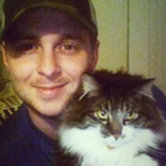 It's Ryan and a cat. Doesn't get much better.