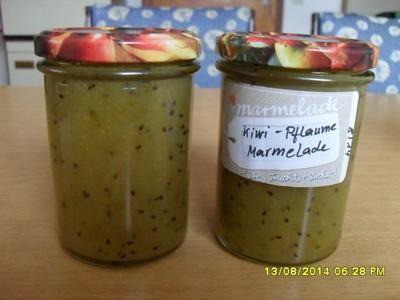 Rezept: Kiwi-gelbe Pflaumen-Marmelade