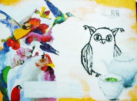 bird painting 2