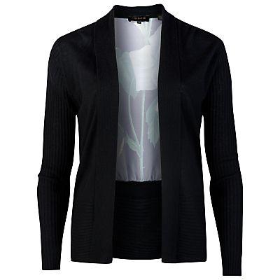 Spring Fashion 2015 - Ted Baker Dedee Distinguishing Rose Wrap Cardigan
