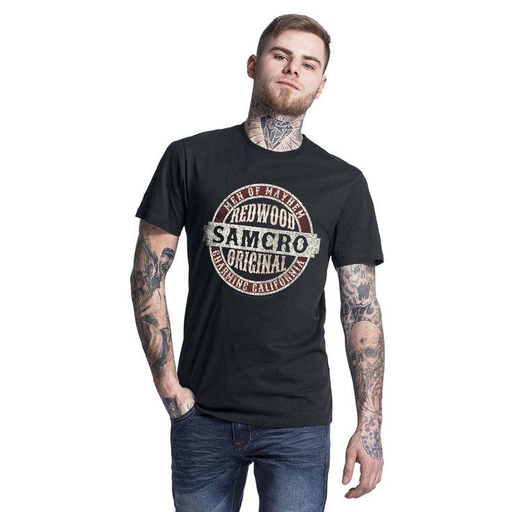 Oryginalna koszulka Sons Of Anarchy - Samcro Original    Grzejcie silniki…