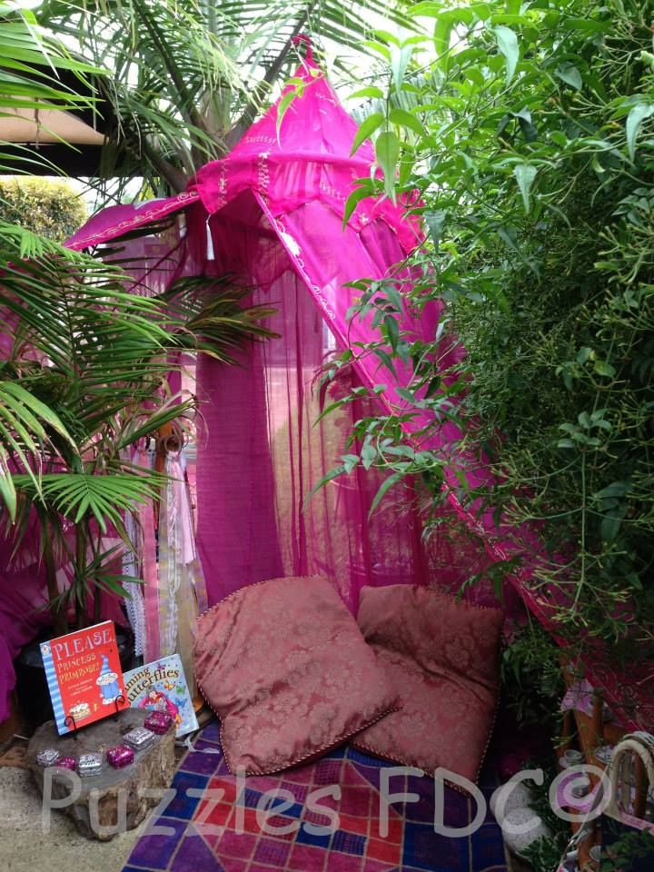A magical reading nook at Puzzles Family Day Care ≈≈