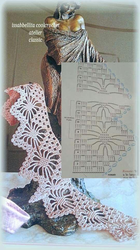 Barras em crochet
