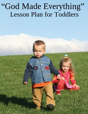 This lesson plan begins a study called Toddlers Knowing God. Our aim is to help…