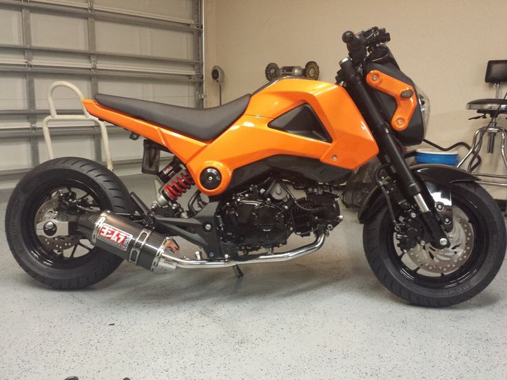 Honda Grom Build >> Build: 09challengersrts grom build thread - | Rucki, Grom's, Cafe Racers and such | Pinterest ...