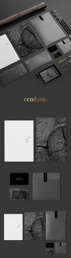 Nero Design – Brand identity for Cendana, a carpenter's studio in the UK