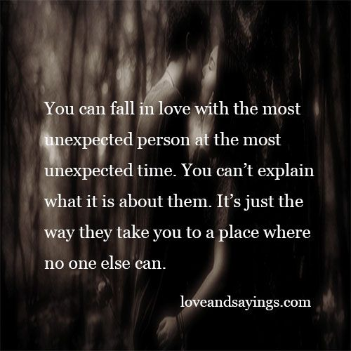 unexpected relationship poems and quotes