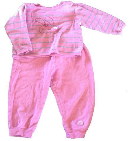 Pink Bunny Pyjama / Pyjama Rose avec Lapin 3$