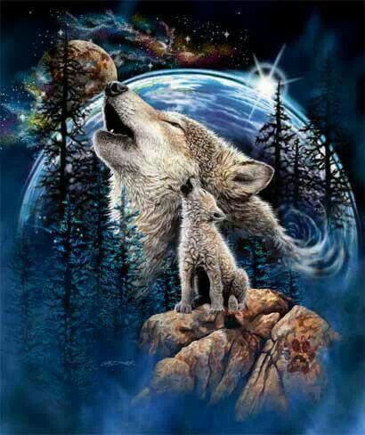 Wolf song....