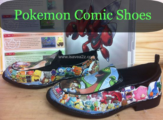 DIY Comic Book Shoes Tutorial - iSave A2Z