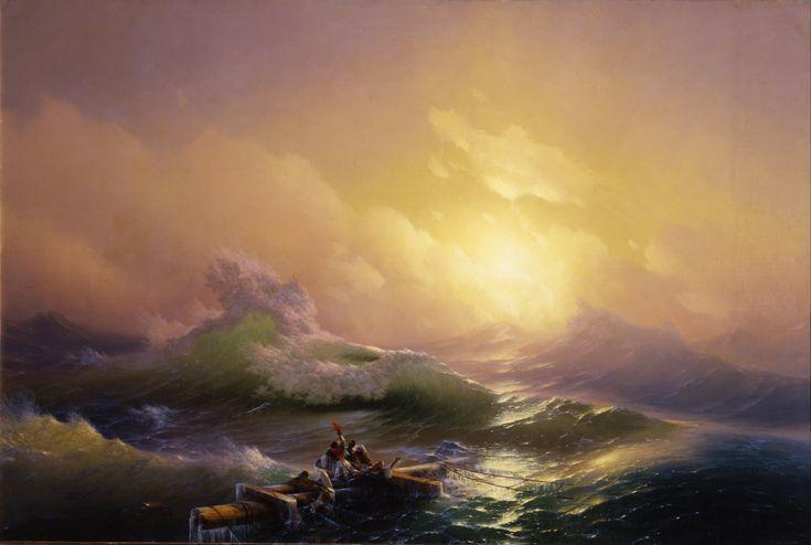 Ivan Aivazovsky, The Ninth Wave, 1850