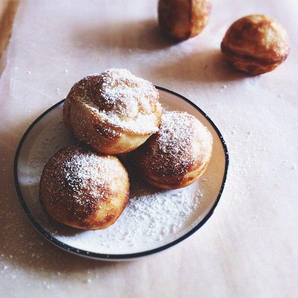 Danish Pancakes (Aebleskiver) // Instagram @Bonnie S. Tsang