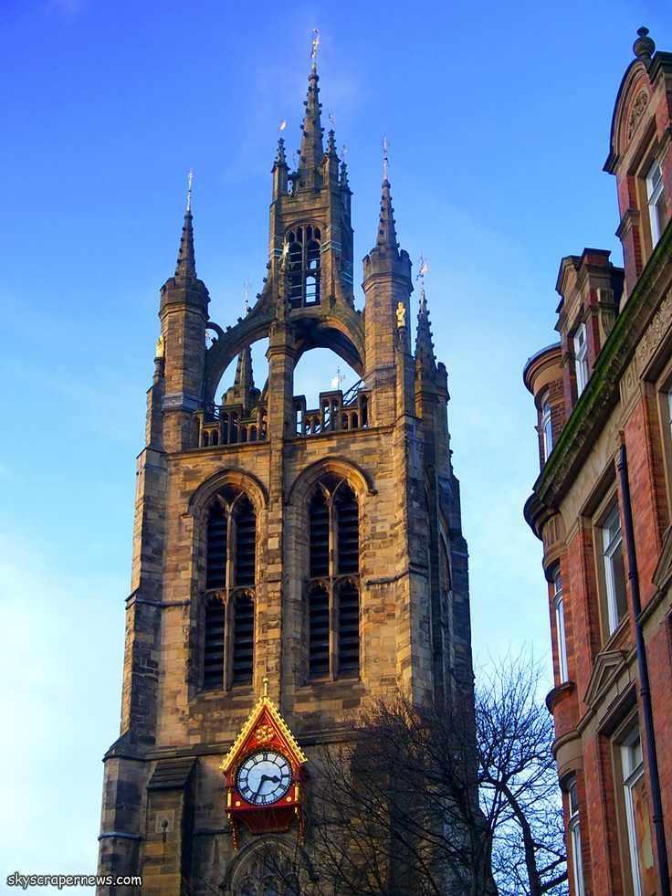 St Nicholas Cathedral, Newcastle. http://www.rentalcarsuk.net/newcastle-airport.html