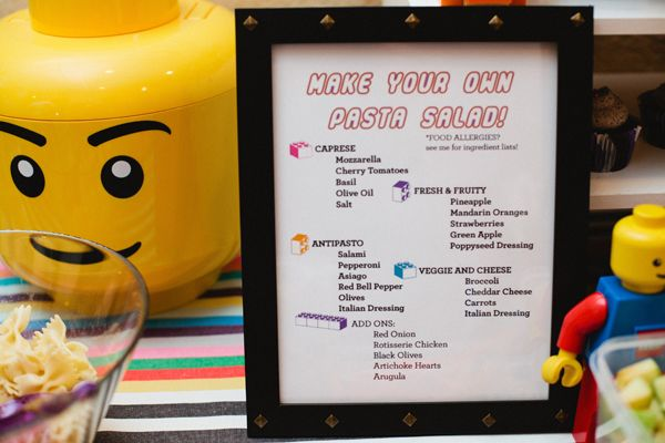 Lego dance party by Cupcakes & Cutlery on The Sweetest Occasion