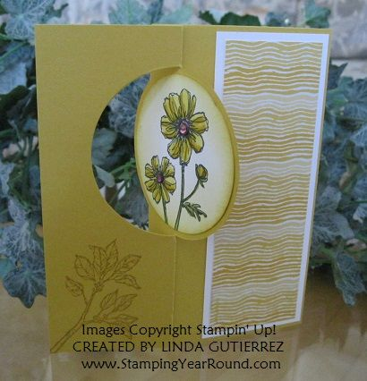 Made with Stampin' Up!'s Circle Card Thinlits Die  (133480).   www.StampingYearRound.com