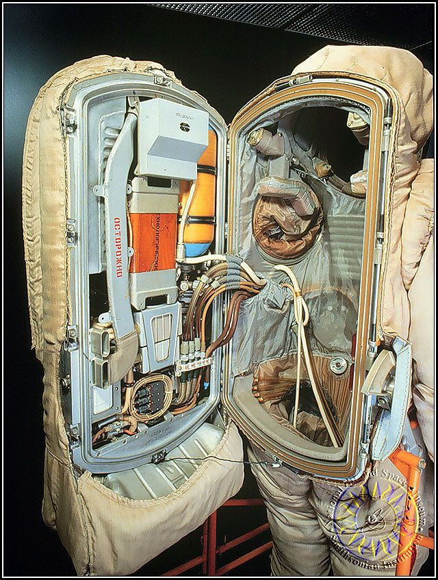 astronauts space suits cooling system - photo #37