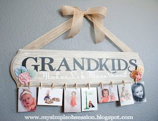 Homemade Gifts for the Grandparents