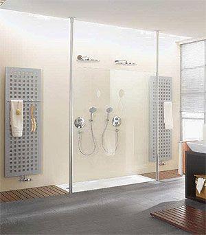 Badkamer dubbele douche google zoeken idee n voor het huis pinterest showers - Badkamer lay outs met douche ...