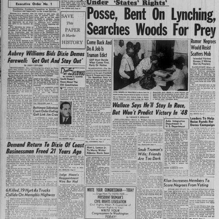 A history of American lynchings