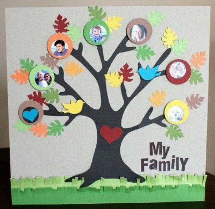 Las 25 mejores ideas sobre arbol genealogico infantil en for Mural una familia chicana