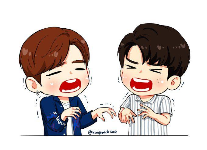 Twitter Ong Seongwoo Kang Daniel Produce 101 ss2 Fanart