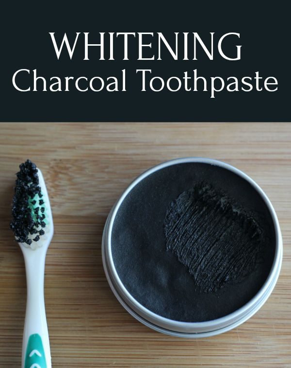 how to make toothpaste with activated charcoal